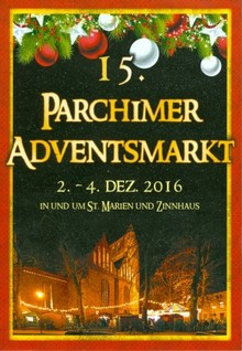 15. Parchimer Adventsmarkt mit \